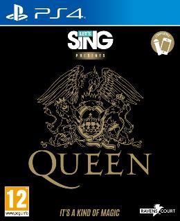 Carátula de Let's Sing Queen para PlayStation 4