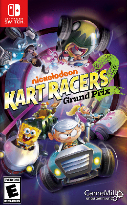 Carátula de Nickelodeon Kart Racers 2: Grand Prix para Nintendo Switch