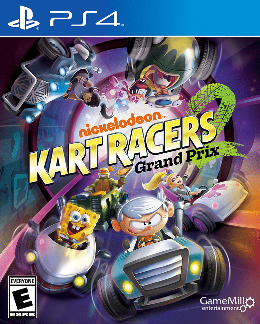 Carátula de Nickelodeon Kart Racers 2: Grand Prix para PlayStation 4