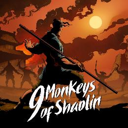 Carátula de 9 Monkeys of Shaolin para Nintendo Switch