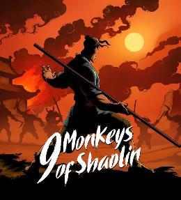 Carátula de 9 Monkeys of Shaolin para PlayStation 4