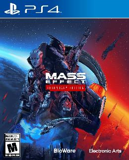 Carátula de Mass Effect Legendary Edition para PlayStation 4