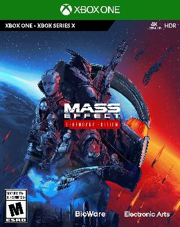 Carátula de Mass Effect Legendary Edition para Xbox One