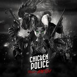Carátula de Chicken Police: Paint It Red! para Nintendo Switch
