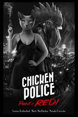 Carátula de Chicken Police: Paint It Red! para Xbox One