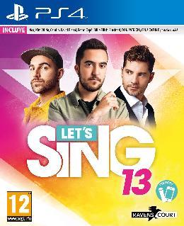 Carátula de Let's Sing 13 para PlayStation 4