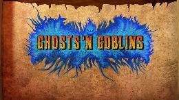 Carátula o portada Logo Oficial del juego Ghosts 'n Goblins Resurrection para Nintendo Switch