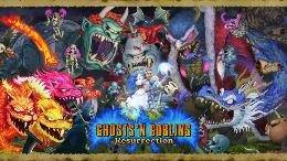 Carátula de Ghosts 'n Goblins Resurrection