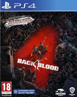 Carátula de Back 4 Blood para PlayStation 4