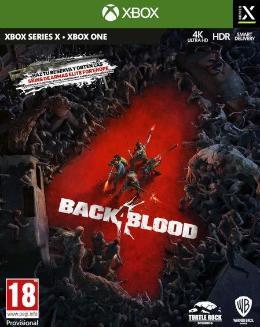 Carátula de Back 4 Blood para Xbox