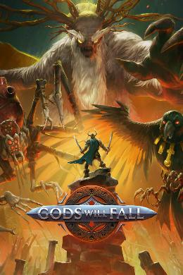 Carátula o portada Europea del juego Gods Will Fall para Nintendo Switch