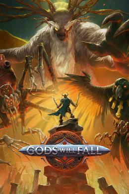 Carátula de Gods Will Fall para PlayStation 4