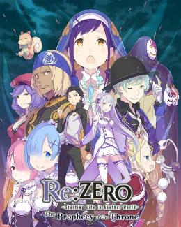 Carátula de Re:ZERO -Starting Life in Another World- The Prophecy of the Throne para Nintendo Switch