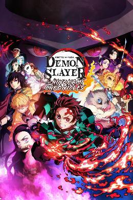 Carátula o portada Flier del juego Demon Slayer: Guardianes de la Noche -Kimetsu No Yaiba - Las Crónicas de Hinokami para PC