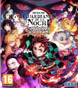 Carátula o portada Europea del juego Demon Slayer: Guardianes de la Noche -Kimetsu No Yaiba - Las Crónicas de Hinokami para PC