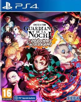 Carátula de Demon Slayer: Guardianes de la Noche -Kimetsu No Yaiba - Las Crónicas de Hinokami para PlayStation 4