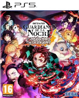 Carátula de Demon Slayer: Guardianes de la Noche -Kimetsu No Yaiba - Las Crónicas de Hinokami para PlayStation 5