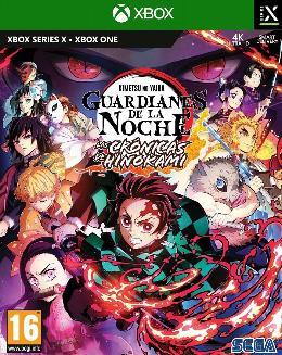 Carátula de Demon Slayer: Guardianes de la Noche -Kimetsu No Yaiba - Las Crónicas de Hinokami para Xbox One