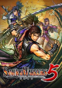 Carátula o portada Europea del juego Samurai Warriors 5 para Nintendo Switch