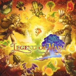 Carátula de Legend of Mana HD para Nintendo Switch