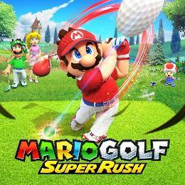 Carátula de Mario Golf Super Rush