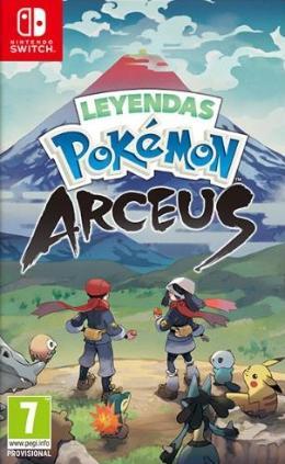 Carátula de Leyendas Pokémon: Arceus