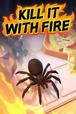 Carátula de Kill It With Fire para Nintendo Switch
