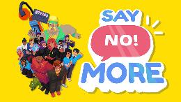 Carátula o portada Europea del juego Say No! More para Mac