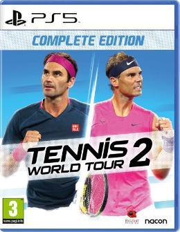 Carátula de Tennis World Tour 2 para PlayStation 5