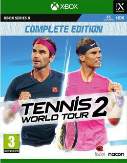 Carátula de Tennis World Tour 2 para Xbox