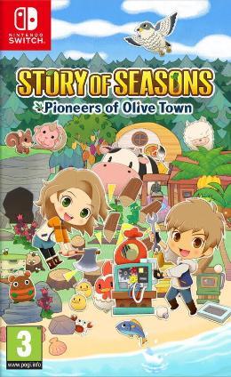 Carátula de Story of Seasons: Pioneers of Olive Town
