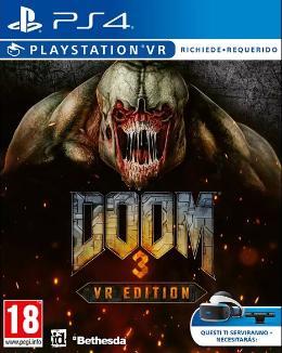 Carátula de Doom 3: VR Edition