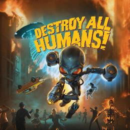 Carátula de Destroy All Humans! para Nintendo Switch