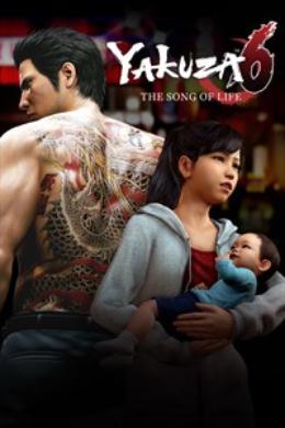 Carátula de Yakuza 6: The Song of Life para Xbox