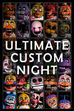 Carátula de Ultimate Custom Night para PlayStation 4