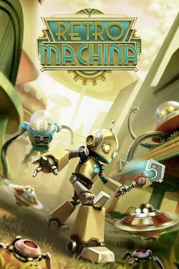 Carátula de Retro Machina para PlayStation 4