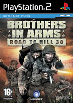 Car�tula de Brothers in Arms para PlayStation 2