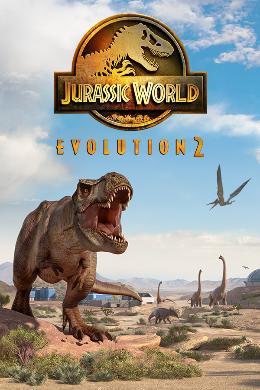 Carátula o portada Europea del juego Jurassic World Evolution 2 para PC