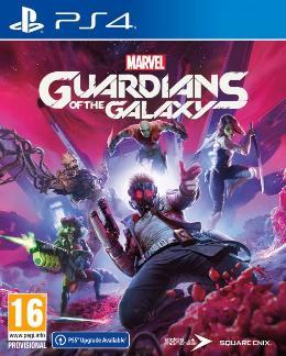 Carátula de Marvel's Guardians of the Galaxy para PlayStation 4