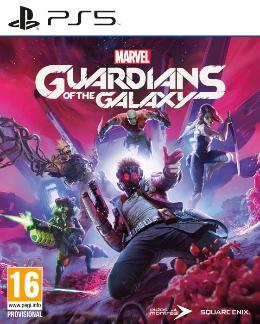 Carátula de Marvel's Guardians of the Galaxy para PlayStation 5