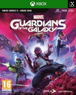 Carátula de Marvel's Guardians of the Galaxy para Xbox