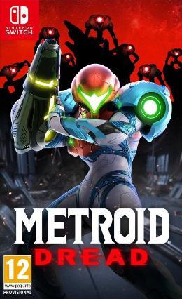 Carátula de Metroid Dread para Nintendo Switch