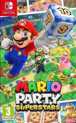 Carátula de Mario Party Superstars