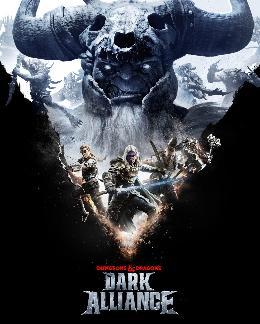 Carátula de Dungeons & Dragons: Dark Alliance para PlayStation 4