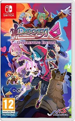 Carátula de Disgaea 6: Defiance of Destiny para Nintendo Switch