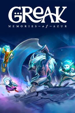 Carátula de Greak: Memories of Azur para PlayStation 5