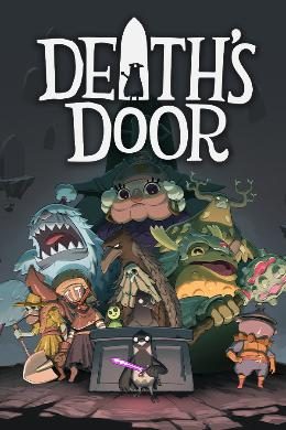 Carátula o portada Europea del juego Death's Door para Xbox One