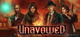Carátula o portada Logo Oficial del juego Unavowed para Nintendo Switch