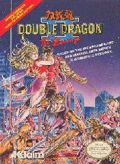 Carátula de Double Dragon II: The Revenge para NES