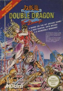 Carátula de Double Dragon II: The Revenge para NES